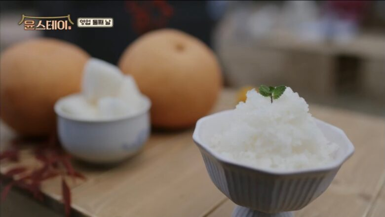 梨のアイス